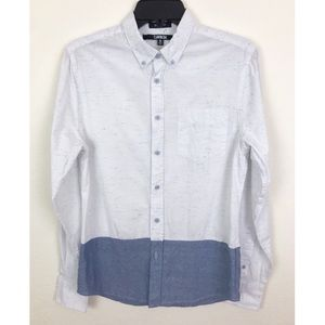 Carbon Slim Fit Button Down Shirt